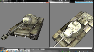 model viewer screen 3 with shaders ( spec map )